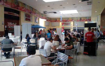 Exitosa Feria del Empleo Canacintra en Plaza Carranza