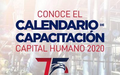 CONOCE EL NUEVO CALENDARIO DE CAPACITACIÓN – DESARROLLO HUMANO
