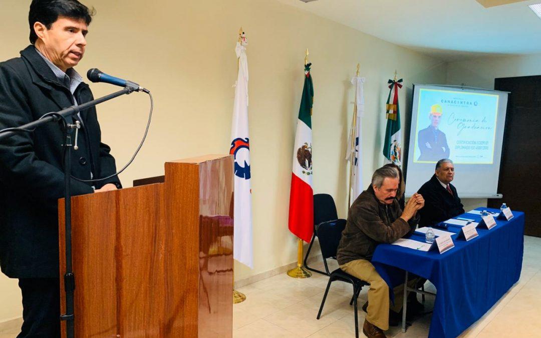 CONCLUYEN 50 ESTUDIANTES EL ESTÁNDAR DE COMPETENCIAS 0391.01 Y EL DIPLOMADO ISO 45001-2018