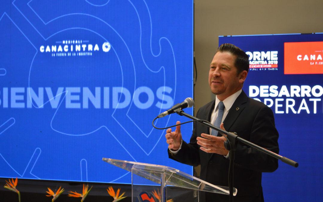 RATIFICAN  A JOSÉ EUGENIO LAGARDE AMAYA COMO PRESIDENTE DE CANACINTRA MEXICALI.