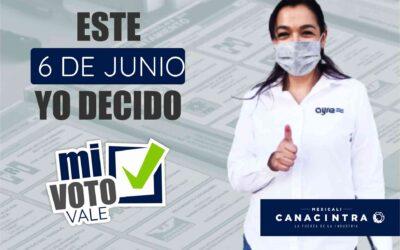 """PARTICIPA EN LA CAMPAÑA """"MI VOTO VALE"""""""