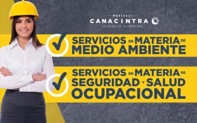 CONOCE LOS SERVICIOS QUE EL DEPARTAMENTO DE SEGURIDAD INDUSTRIAL Y MEDIO AMBIENTE BRINDA A TU EMPRESA